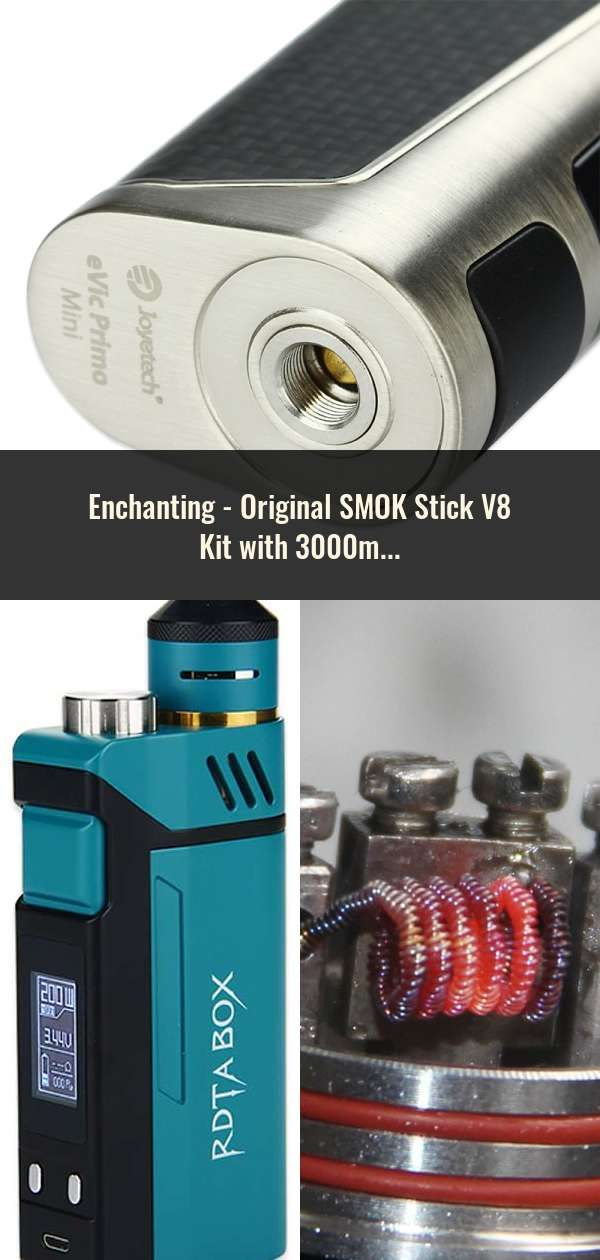 Original SMOK Stick V8 Kit with 3000mAh Battery & 5ml TFV8