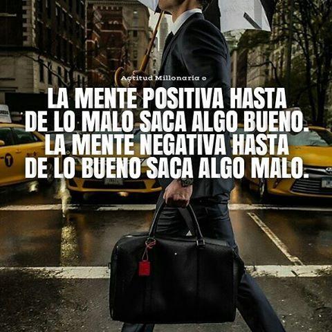 Mente Positiva... Buenos días Millonari@s...  #ActitudMillonaria #Abundancia…