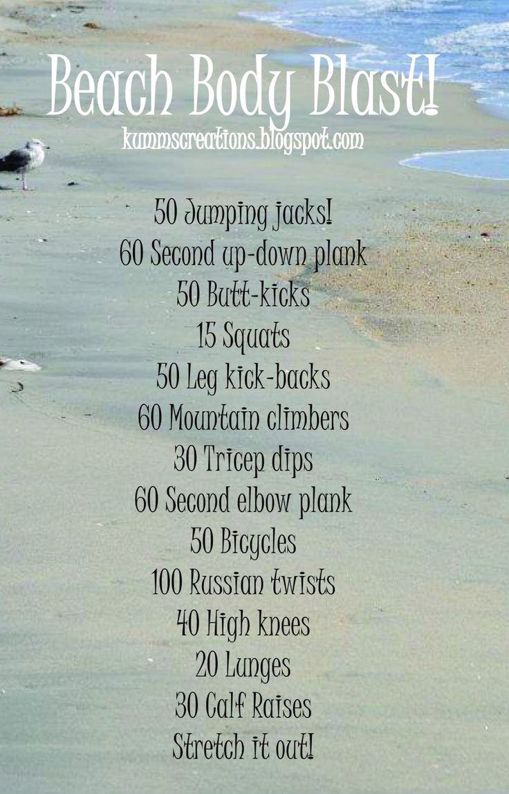 Beach Body Blast, because I'll be on the beach in 75 days!!