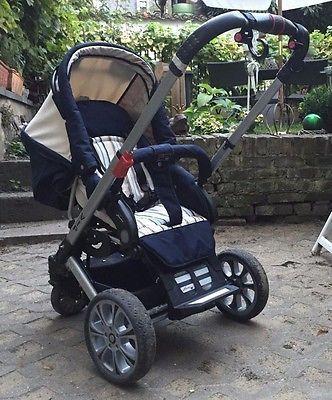 HARTAN VIP Kinderwagen mit Babywanne &Buggyaufsatz &Adapter für Auto-Babyschalesparen25.info , sparen25.com
