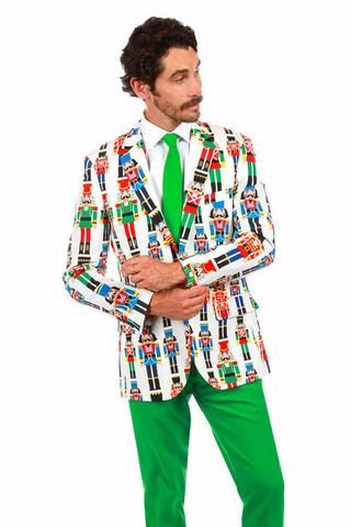 Pre-Order - The Nut Cracker Ugly Christmas Sweater Suit - Delivery by November 2016 - Shinesty