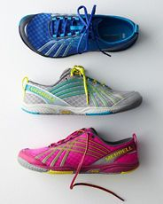 Merrell Road Glove Dash 2 Sneakers, Garnet Hill Fall 2013  I want the Hot Pink