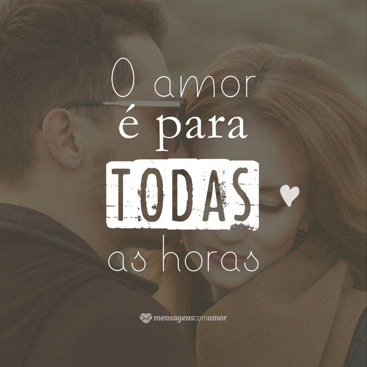 Nos sorrisos ou nas lágrimas, o amor é para sempre.