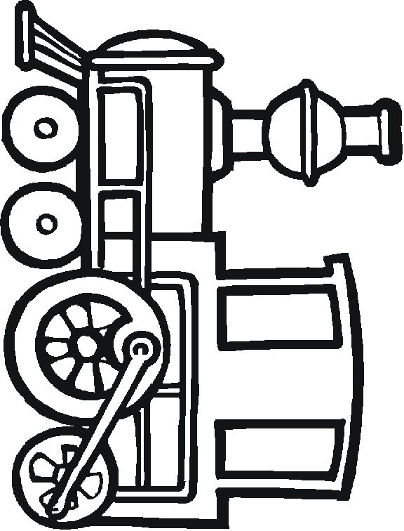 Transportation themed colouring pages: boats, cars, trains