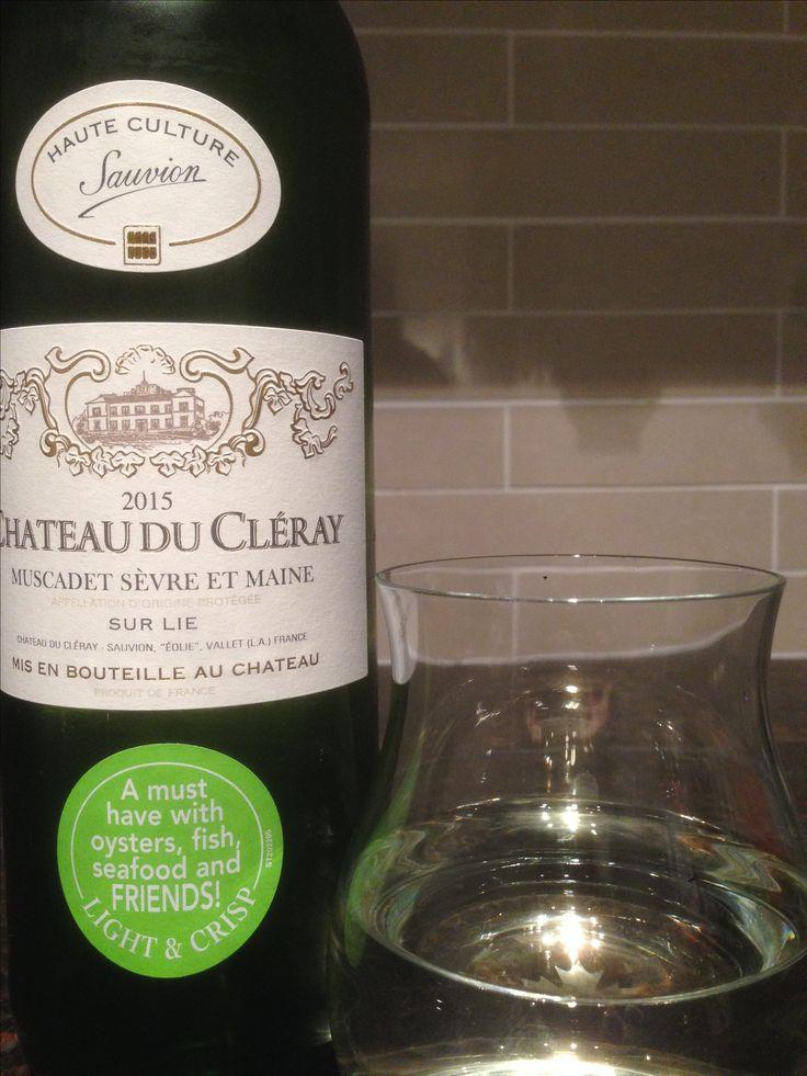 Château du Cléray 2015 | muscadet | france | 3.75 stars | appley and then lemony