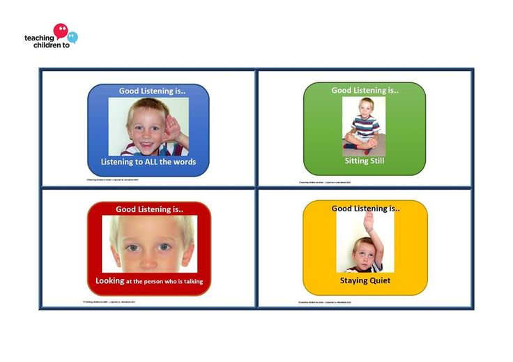 For TAs supporting a particular child with attention and listening difficulties, small cue cards that fit on a lanyard or belt loop are a really helpful, non verbal way to refocus a child without distracting others nearby.