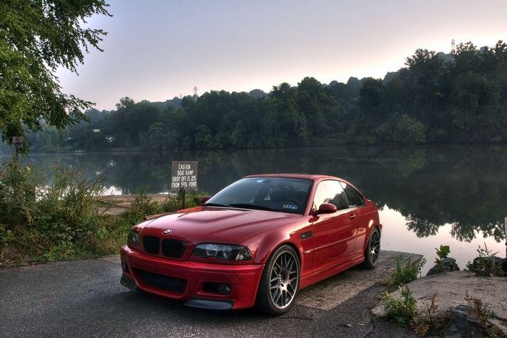 2002 BMW M3 e46 red