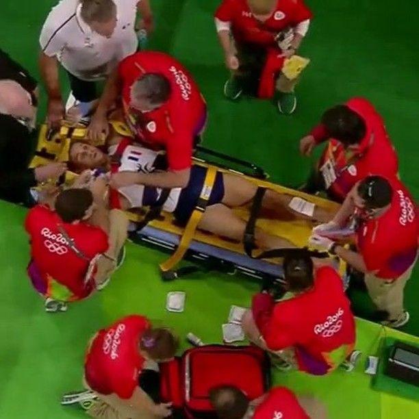 👊 Double tap and follow us 🔥  France gymnast Samir Ait Said breaks his leg during Olympic vault qualifications @FightsBand ◀️ FOLLOW ▶️ @FightsBandTag your friends | Отметь своих друзей 👍#boxingband #boxing #knockout #sport #ko #motivation #ufc #workout #training #mma #olympics #champion #muaythai #jiujitsu #fit #crossfit #fitness #олимпийскиеигры #karate #rio2016 #adidas #samiraitsaid #olympicgames #gold #wwe #gymnastics #спорт #бокс #gymnast #nike  Ужасная травма французского…