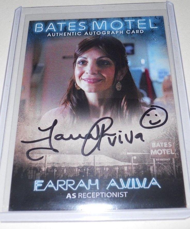 Bates Motel San Diego Comic Con Farrah Aviva  Autograph Trading Card #ACCFA