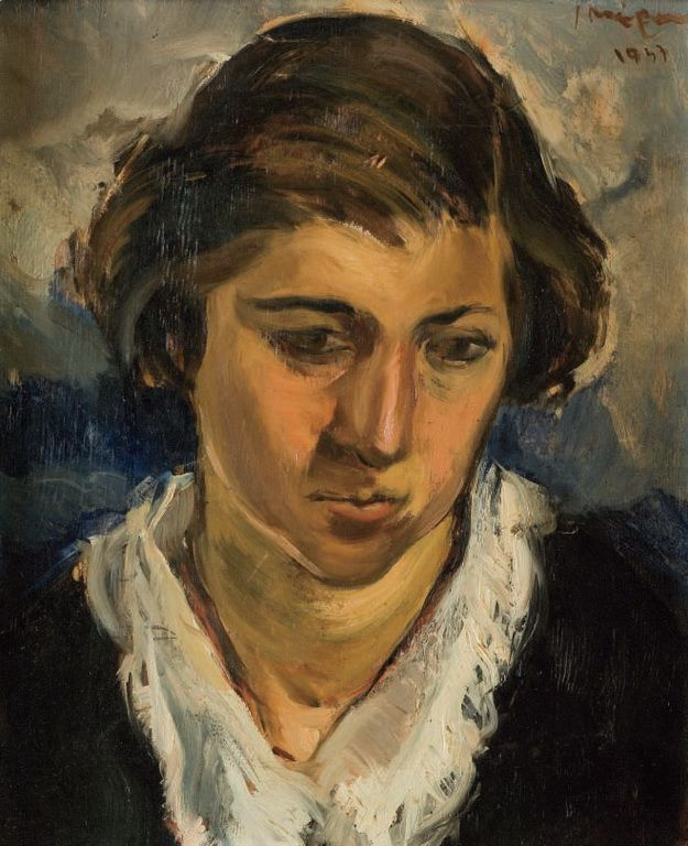 Yannis Moralis - artists sister, 1947