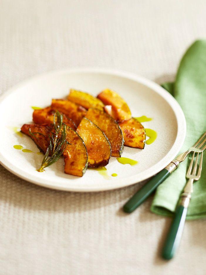 【ELLE a table】かぼちゃのソテー アボカドオイル&ローズマリー風味レシピ|エル・オンライン