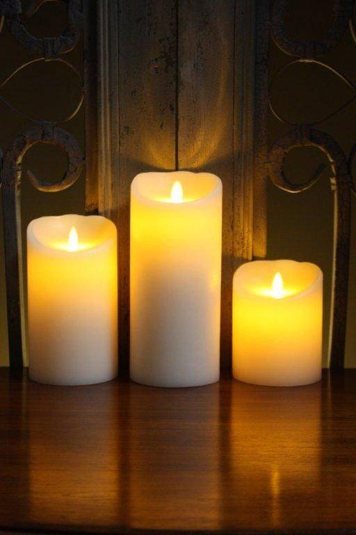 17 best images about bougies led smart candle luminara on pinterest dubai krysten ritter. Black Bedroom Furniture Sets. Home Design Ideas