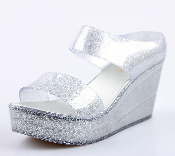 2016 haute qualité d'été sandales avec pvc matériel en plastique de gelée chaussures pour femmes glitter dames romaines chaussures-image-Sandales-ID de produit:60333832405-french.alibaba.com