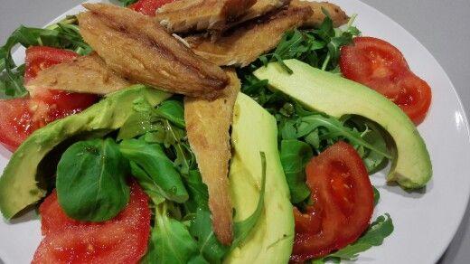 Mr. Avocado, my love :-) In gezelschap van makreel.