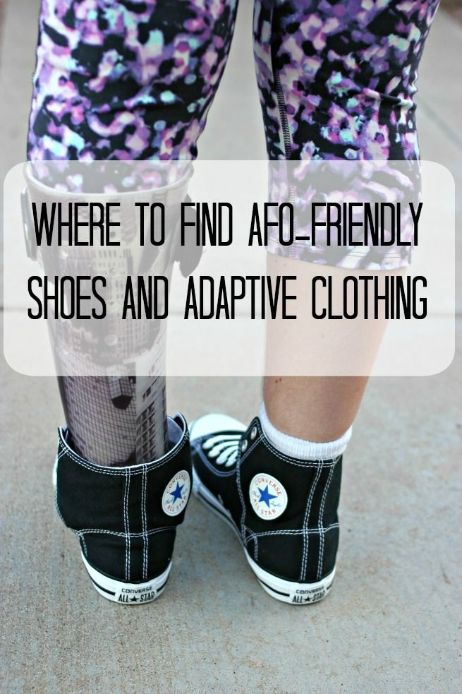 85880a678b426d Where to Find AFO-friendly Shoes and Adaptive Clothing