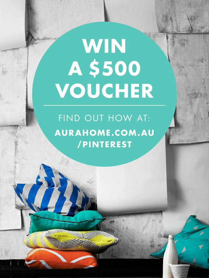 WIN a $500 #aurahome voucher. Open to residents worldwide.