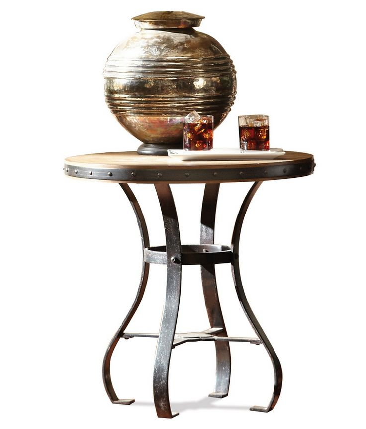 Accessory Small Round End Table