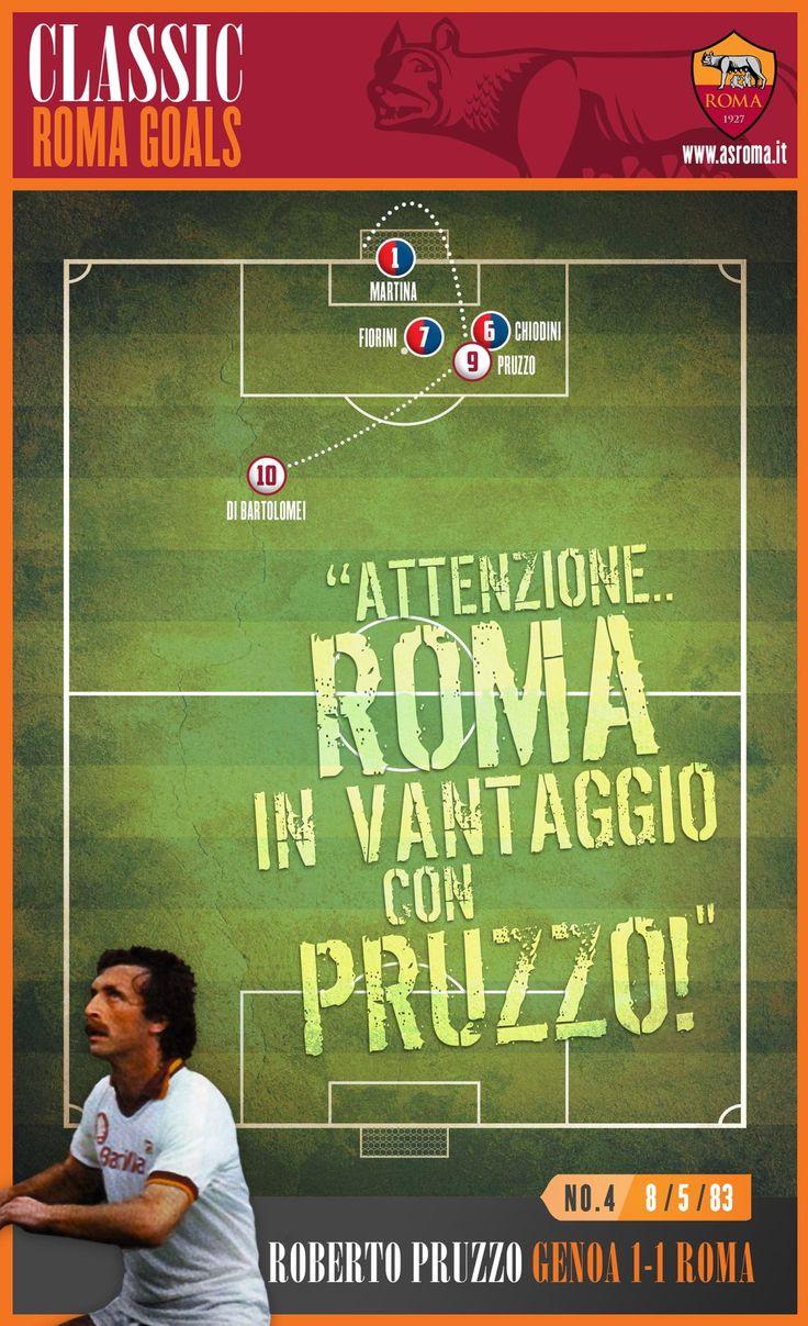 Classic Roma Goals: No.4 Pruzzo v Genoa
