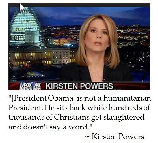 The District of Calamity: Kirsten Powers on Obama's Inability to Recognize Christian Persecution