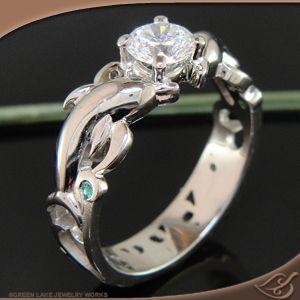 Cool Engagement Ring Pin