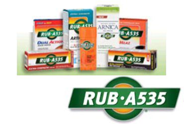 $1.50 off any RUB·A535 Effective Pain Relief products