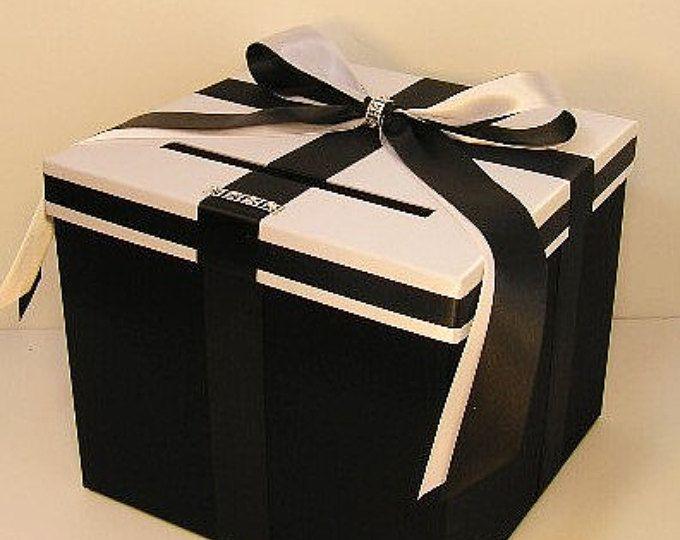 Best Silver Money Box Ideas On Pinterest Diy Wedding Card
