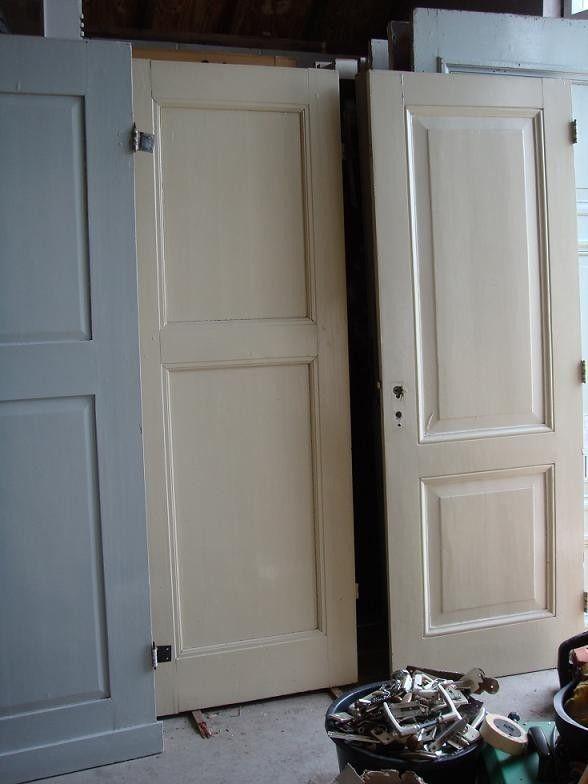 nr. 1 antieke paneeldeur  (ook kastdeuren)(meerdere stuks)