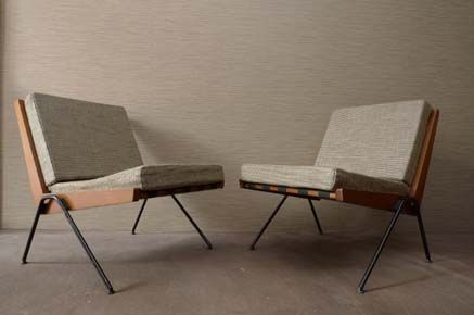 Chervon Chairs, c. 1957 - Robin Day