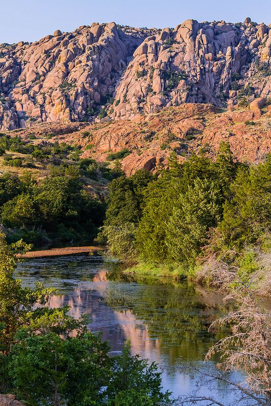 Rugged Beauty Of Wichita Mountains Wildlife Refuge, Indiahoma, Oklahoma