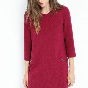 Dress Warna Merah Anggun | Toko Baju Online