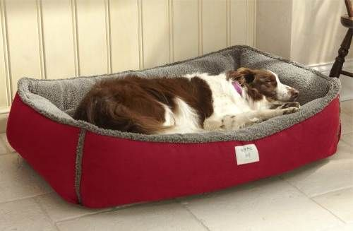 Pressure Activated Heated Dog Bed