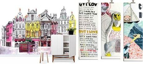 Julia Pott - Mural de pared y papel tapiz fotográfico
