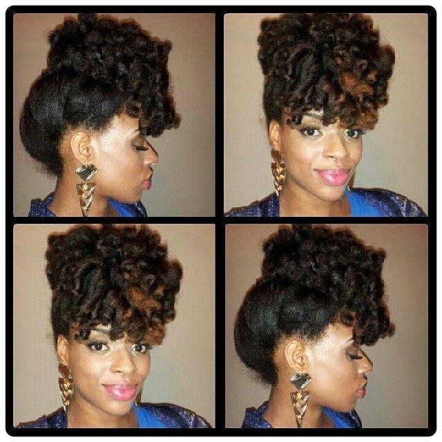 Flexi Rod Pinned Up Natural Ii Hair Curly Hair Styles Hair Styles