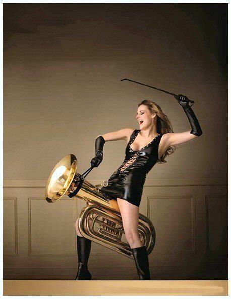 Tuba woman