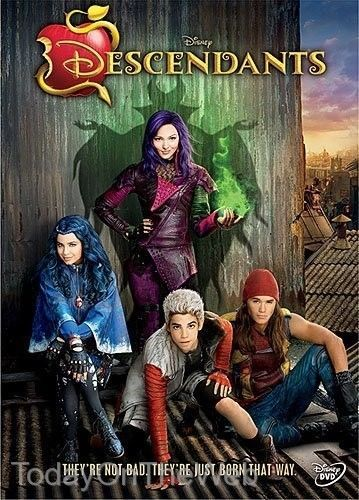 Disney's Descendants New DVD Widescreen Movie