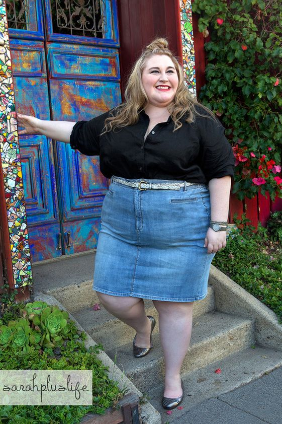 SarahPlusLife Styles Her Favorite Plus Size Looks From J