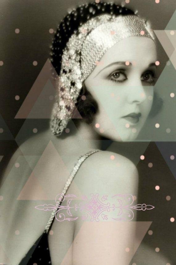 Vintage image altered artIrene Delroy1920sZiegfeld от DemiArtDemi