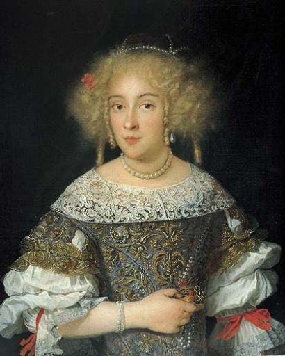 1674 Sebastiano Bombelli - Countess Giustina Colonna Riccati: