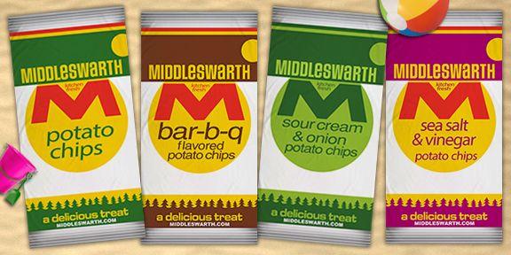 Middleswarth Potato Chips