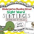 word kindergartens sight mini books for  kindergarten