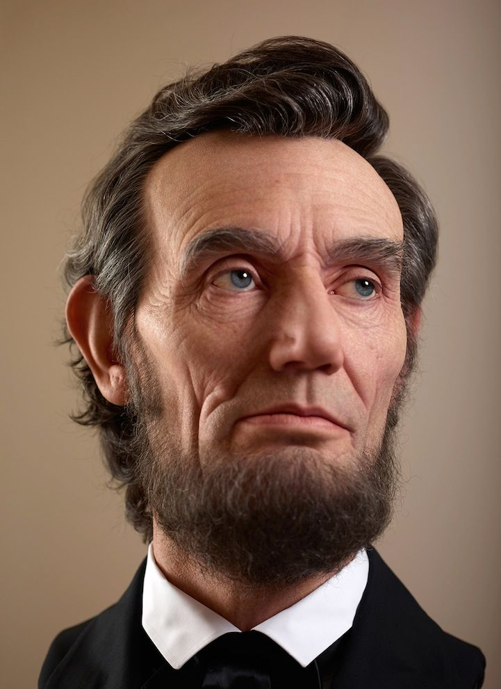21 best lincoln in art images on pinterest abraham lincoln shockingly realistic sculpture portrays abraham lincoln fandeluxe Gallery
