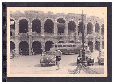 Fotografia Foto Verona Arena Macchina Auto Maggiolino Pullman KK1460