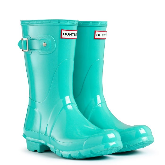 Glossy Welly Boots | Original Gloss Short | Hunter Boot