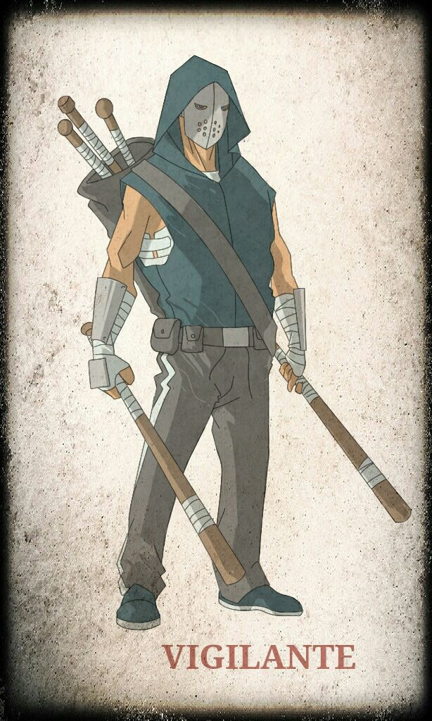 TMNT Casey Jones by ~devilmonkey77 on deviantART