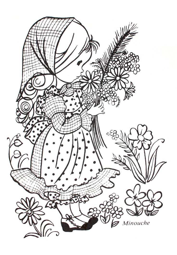 Vintage French Coloring Book 81
