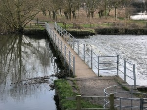 Canal Walkway and Wier