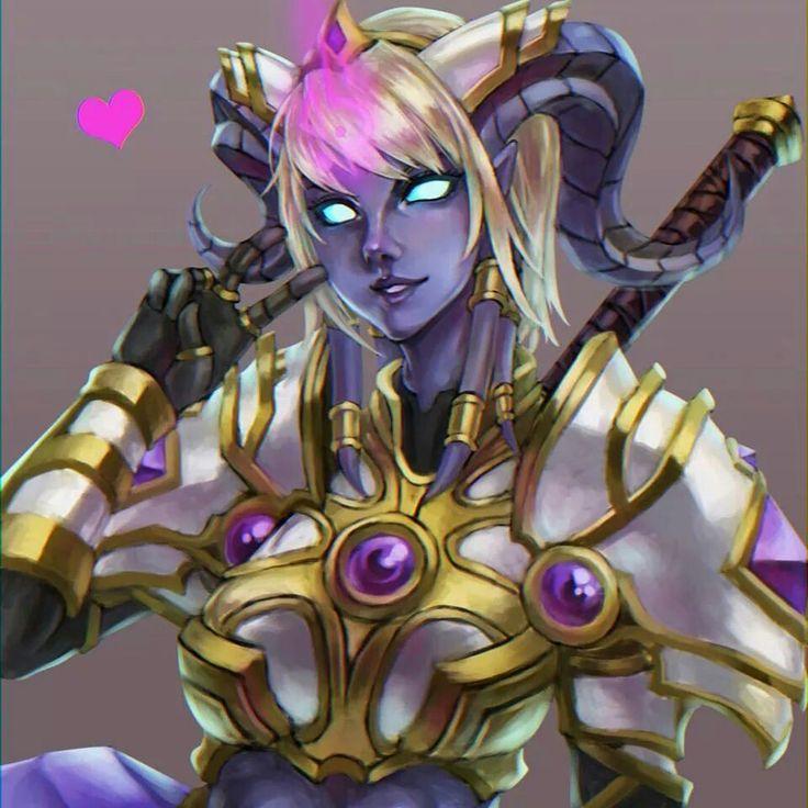 Drenai paladin   Warcraft, Warcraft art, Wow draenei