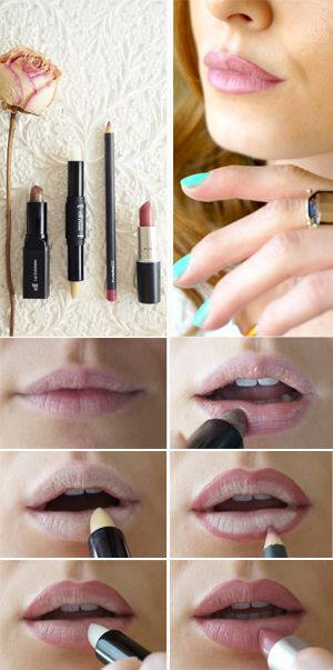 """Ow how I wish I had a perfectly round pout like Scarlett Johansson! I clearly don't, but I go with the motto; """"Work with what you got"""". So here is how I beautify my thin lips into – somewhat..."""