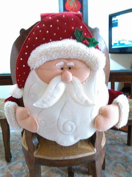 Capa para Cadeira de Natal