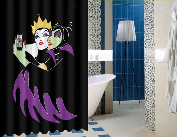 """Grimhilde And Maleficent Disney High Quality Custom Shower Curtain 60"""" x 72"""" #Unbranded #Modern #BestQuality #Cheap #Rare #New #Latest #Best #Seller #BestSelling #Cover #Accessories #Protector #Hot #BestSeller #2017 #Trending #Luxe #Fashion #Love #ShowerCurtain #Luxury #LimitedEdition #Bathroom #Cute #ShowerCurtain #CurtainGift"""